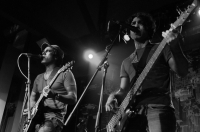 Paresh and Naresh Kamath of Hipnotribe        Indian Rock 101: Did you know that Paresh and Naresh Kamath were part of Bombay Black, who opened for Aerosmith in 1995!<br/><span class='courtesyName'> Photo Courtesy - Prashin Jagger  </span>
