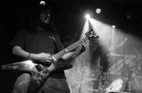 No, that's not Dimebag Darrell!        Siddharth Kadadi is a criminally underrated guitar player. Check out his chops on their 2010 release Theories of Lies and Negation, here.<br/><span class='courtesyName'> Photo Courtesy - Prashin Jagger  </span>