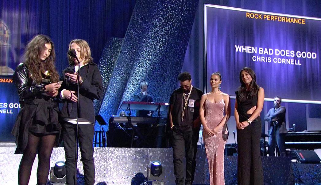 Chris Cornell wins Grammy for best rock performance 2019